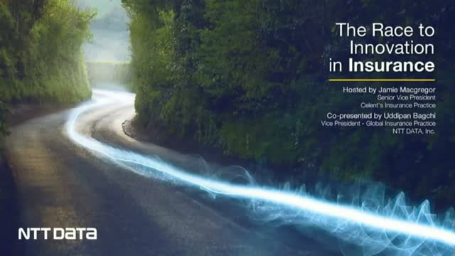 The Race to Innovation in Insurance