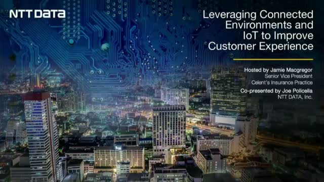 Leveraging Connected environments & IoT to improve the customer experience