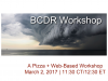 BCDR Planning & Programming | ET/CT