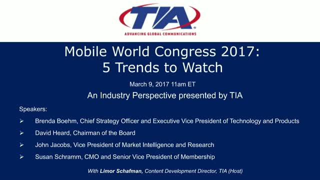 Mobile World Congress 2017: 5 Trends to Watch