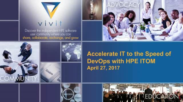 Accelerate IT to the Speed of DevOps with HPE ITOM