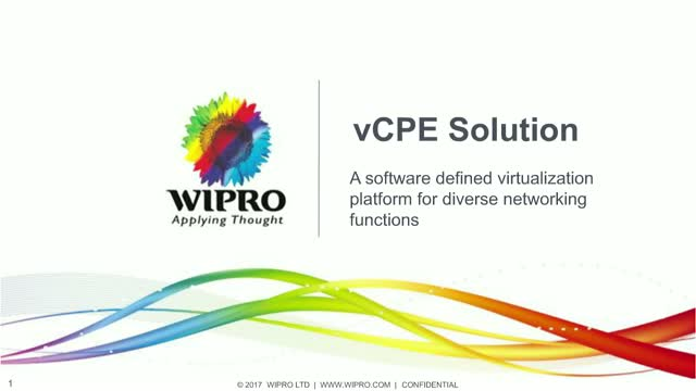 vCPE Solution: A Software Defined Virtualization Platform for Diverse Networking