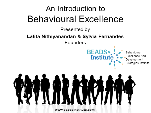 Introduction to Behavioural Excellence