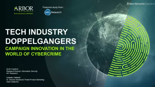 Tech Industry Doppelgangers: Campaign Innovation in the World of Cybercrime