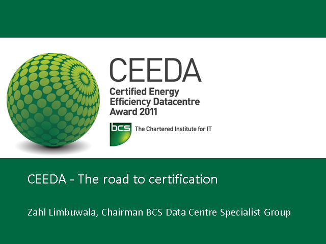 CEEDA – The Road to Certification