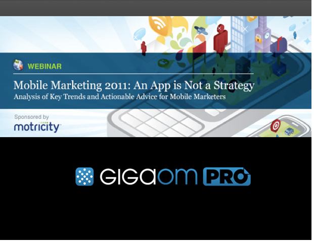 Mobile Marketing 2011: An App is Not a Strategy