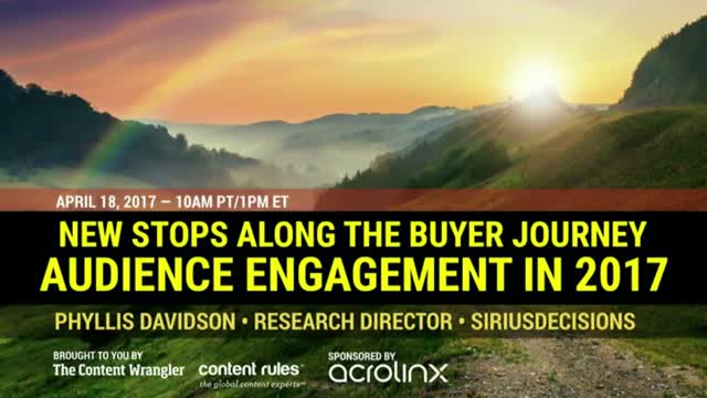 New Stops on the Buyer Journey: Audience Engagement in 2017