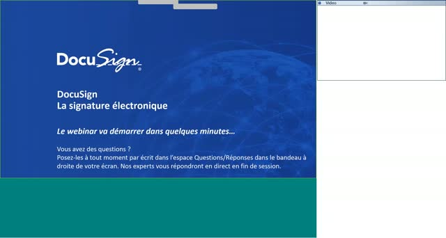 Webinar - Introduction à la signature électronique