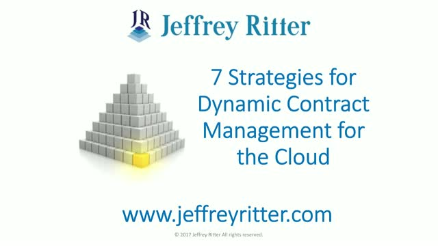 7 Strategies for Dynamic Contract Management in the Cloud
