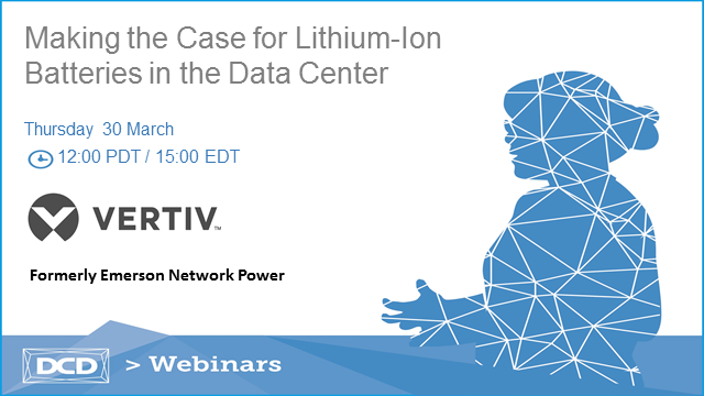 Making the Case for Lithium-Ion Batteries in the Data Center