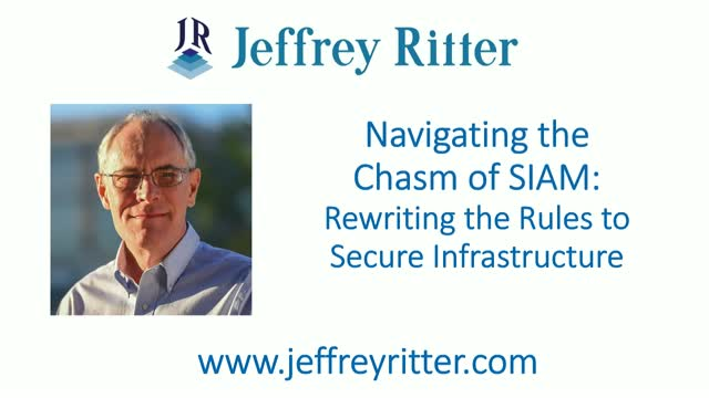 Navigating the Chasm of SIAM-Managing Infrastructure in 2018