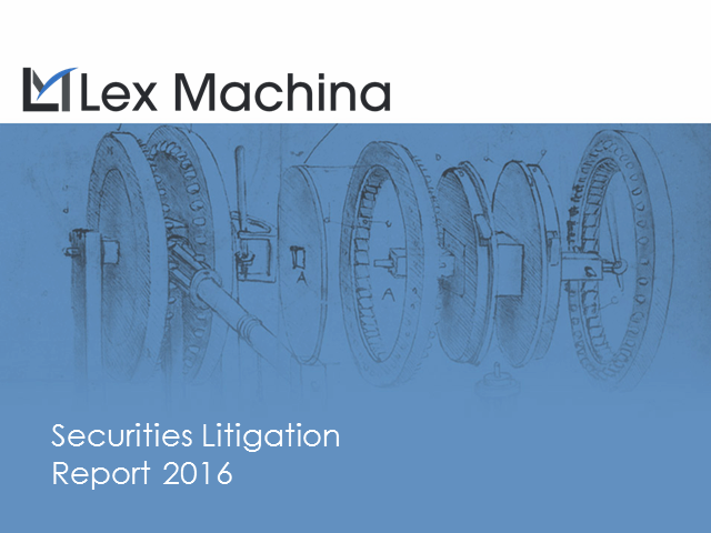 Securities Litigation Report 2017