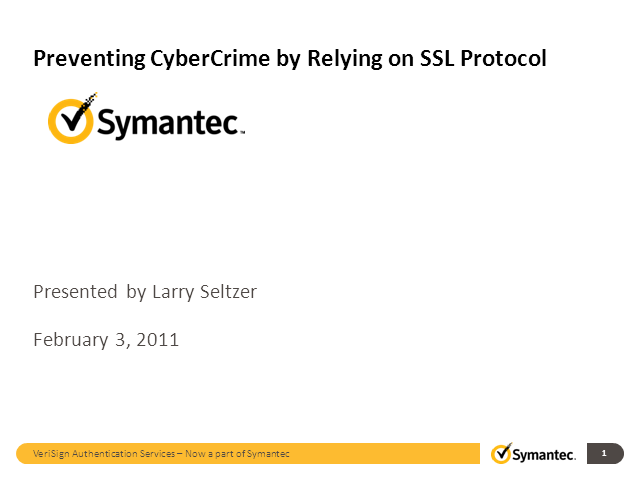 Preventing CyberCrime by Relying on SSL Protocol