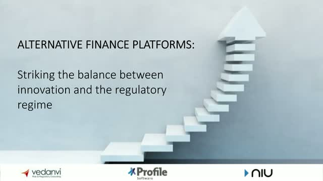 Alternative Finance: striking the balance between innovation and regulation