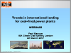 Trends in international financing of coal-fired power plants