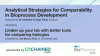 Analytical Strategies for Comparability in Bioprocess Development