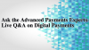 Ask the Advanced Payments Experts: Live Q&A on Digital Payments