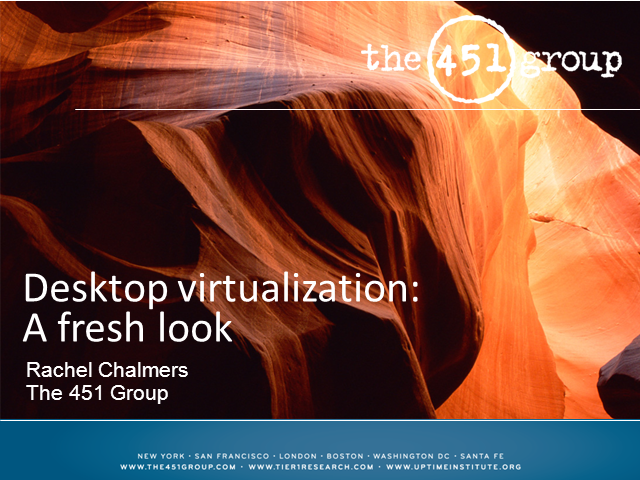 Everything you wanted to know about VDI