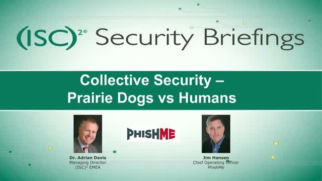 Collective Security – Prairie Dogs vs Humans