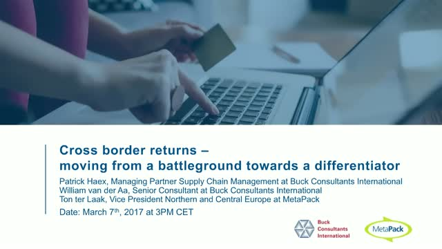 Cross border returns – moving from a battleground towards a differentiator