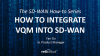How to Integrate VQM with SD-WAN