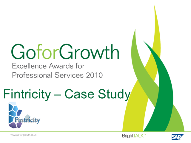 Go for Growth - Case study - Fintricity