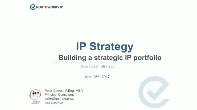 How to use blue ocean strategy to build a strategic patent portfolio