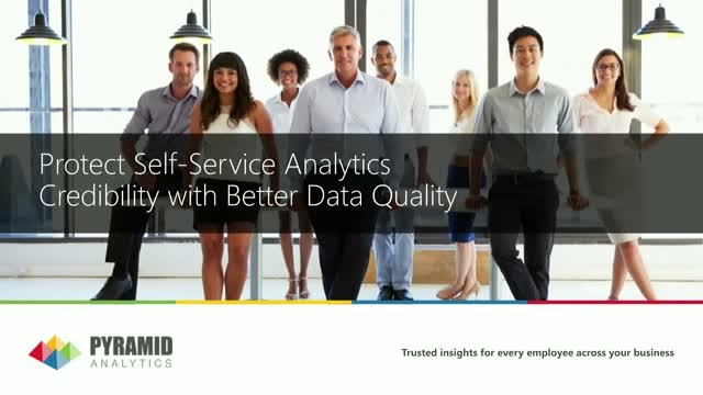 Improve Self-Service Analytics Credibility with Better Data Quality