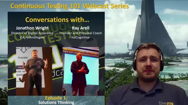 Continuous Testing and the Concepts of Solutions Thinking (1 PDU)