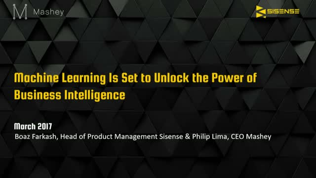 Machine Learning Is Set To Unlock The Power of Business Intelligence