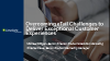 Overcoming eTail Challenges to Deliver Exceptional Customer Experiences