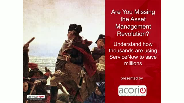 Are You Missing the Asset Management Revolution?