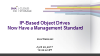 IP-Based Object Drives Now Have a Management Standard