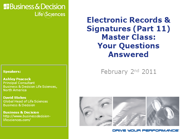 Electronic Records & Signatures: Your Questions Answered