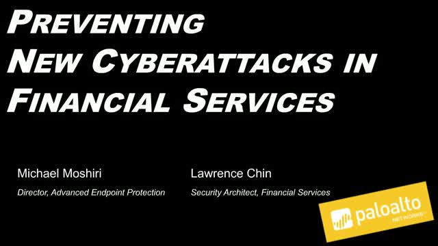 Preventing Cyberattacks in Financial Services with Advanced Endpoint Protection