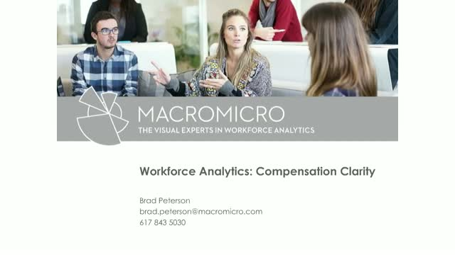 Visual Workforce Analytics: Compensation Clarity