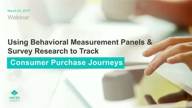 Using Measurement Panels & Survey Research to Track Consumer Path-to-Purchase