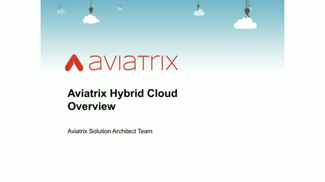 Hybrid Cloud Networking | Extend your Private Data Center to the Public Cloud