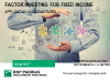 Factor Investing for Fixed Income: Application and Advantages