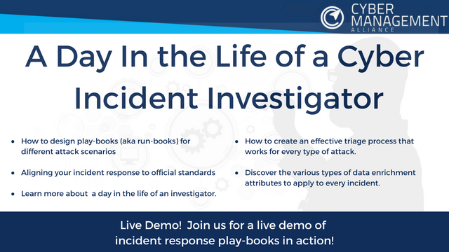 A Day in the Life of an Incident Investigator - Live Demo