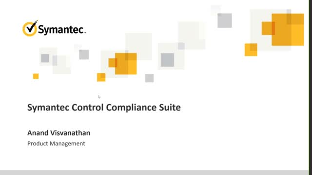 Doing More With Symantec Control Compliance Suite