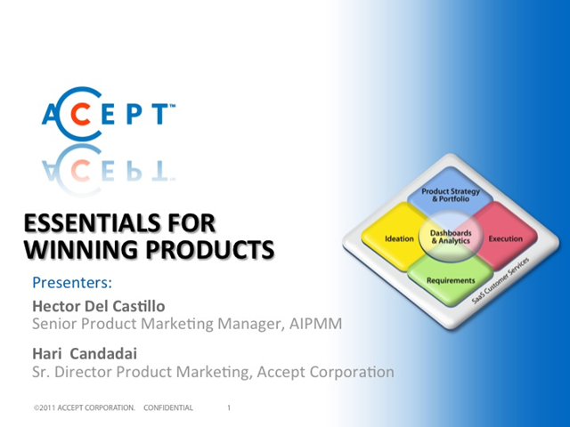 Essentials for Winning Products