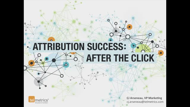 Webinar: Local Mobile Attribution After the Click