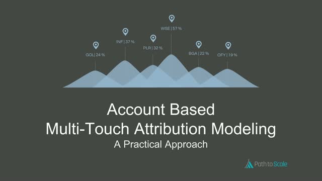 Account Based Multi-Touch Attribution Modeling: A Practical Approach