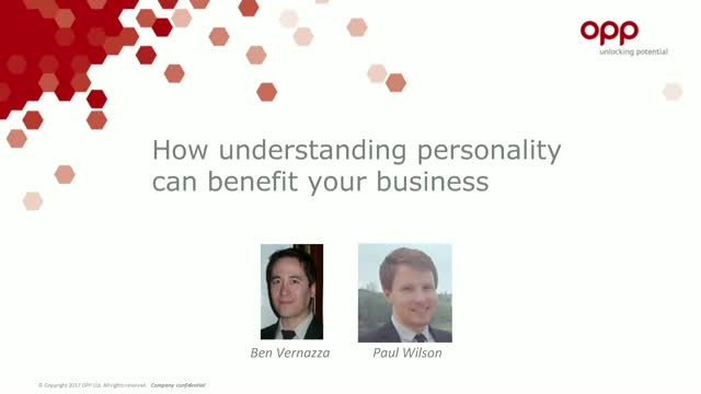 How understanding personality can benefit your business