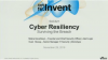 Cyber Resiliency – surviving the breach
