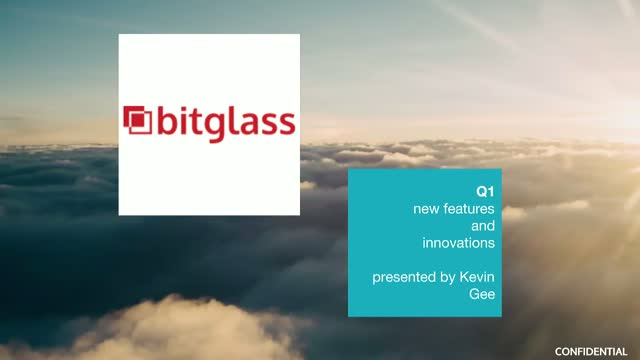 Bitglass Technology Update Q1 2017