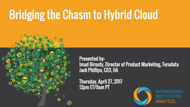 Bridging the Chasm to Hybrid Cloud