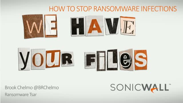 Stopping the World's Worst Ransomware