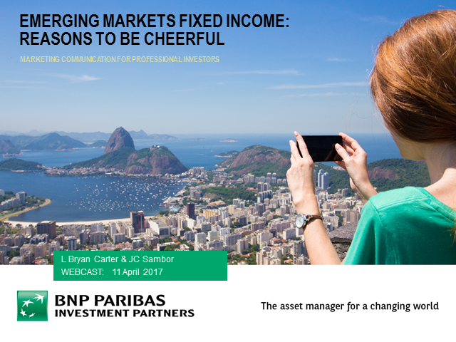 Emerging Markets Fixed Income - Reasons to be Cheerful